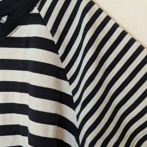 Charter Club Tops - Navy and White Nautical Stripe Shirt size XL